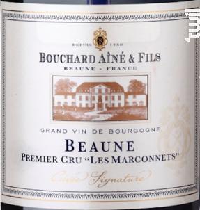 Beaune Premier Cru Les Marconnets - Bouchard Aîné et Fils - 2015 - Rouge