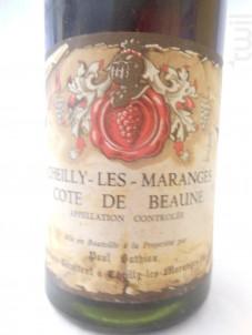 Cheilly-les-Maranges Côte de Beaune - Domaine Paul Duthiau - 1976 - Rouge