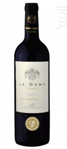 La Dame d'Armens - Château Armens - 2014 - Rouge