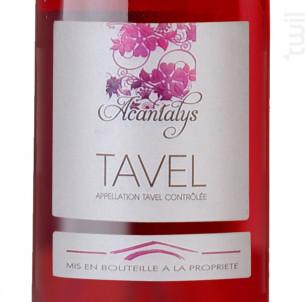 Acantalys - Les Vignerons de Tavel & Lirac - 2018 - Rosé