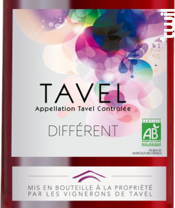 Différent - Les Vignerons de Tavel & Lirac - 2018 - Rosé