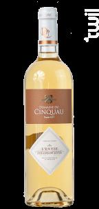 L'Envie - Domaine du Cinquau - 2016 - Blanc