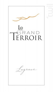 Le Grand Terroir - Terroir de Lagrave - 2015 - Rouge