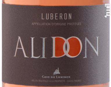 Alidon - Cave du Luberon - 2018 - Rosé