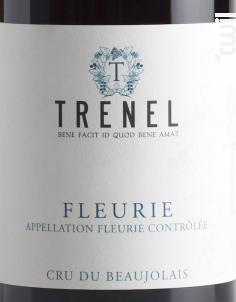 Fleurie - Trenel - 2017 - Rouge