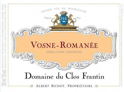 Vosne-Romanée - Domaine du Clos Frantin - Domaines Albert Bichot - 2019 - Rouge