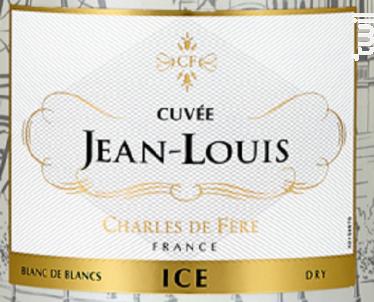 Cuvée Jean-Louis My Paris Secret Brut Blanc - Charles De Fère - Non millésimé - Effervescent