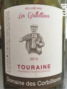 Les Grillottines - Domaine des Corbillières - 2016 - Rouge