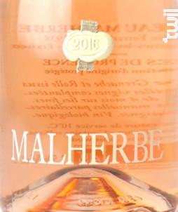 Malherbe Rosé - CHATEAU MALHERBE - BIO - 2017 - Rosé