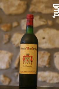 Château Mac Carthy - Chateau Mac Carthy - 1980 - Rouge