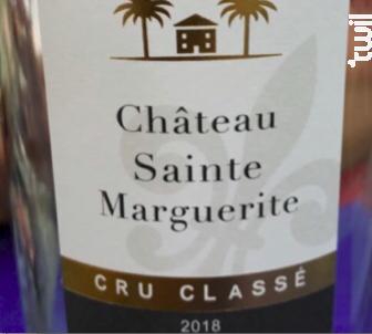 Château Sainte-Marguerite - Cru Classé - Chateau Sainte Marguerite - 2019 - Blanc