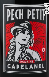 Pech Petit - Domaine Capelanel - 2014 - Rouge