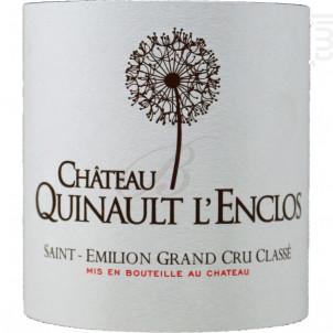 Château Quinault l'Enclos - Château Quinault l'Enclos - 2011 - Rouge