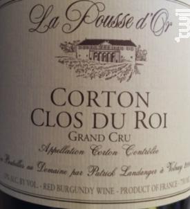 Corton Clos du Roi Grand Cru - Domaine de la Pousse d'Or - 2014 - Rouge