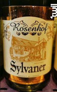Rosenhof - Sylvaner - Cave de Turckheim - 2016 - Blanc