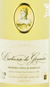Duchesse de Graman - Berticot - 2018 - Blanc