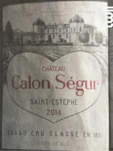 Château Calon Ségur - Château Calon Ségur - 1998 - Rouge