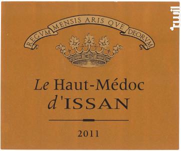LE HAUT MEDOC D'ISSAN - Château d'Issan - 2015 - Rouge