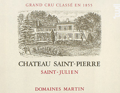 Château Saint-Pierre - Château Saint-Pierre - Domaines Martin - 2016 - Rouge