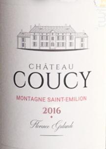 Château Coucy - Château Coucy - 2016 - Rouge