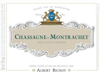 Chassagne-Montrachet - Albert Bichot - 2018 - Blanc