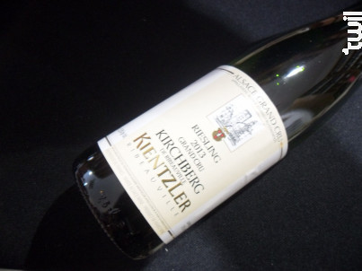 Riesling Kirchberg Grand Cru - André Kientzler Earl - 2014 - Blanc