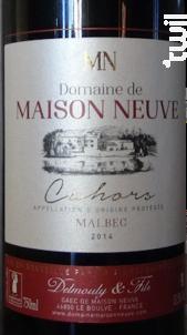 Domaine de Maison Neuve - Cuvée Tradition - Domaine de Maison-Neuve - 2014 - Rouge