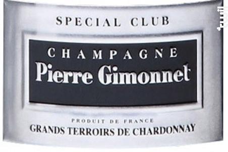 Brut Spécial Club - Pierre Gimonnet et Fils - 2010 - Effervescent
