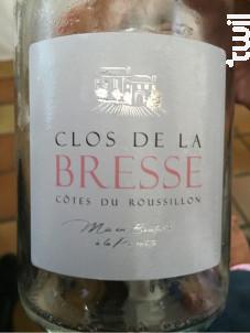 Clos de La Bresse - Clos de La Bresse - 2016 - Rosé