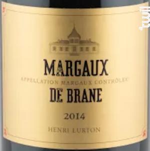 Margaux de Brane - Château Brane Cantenac - 2015 - Rouge