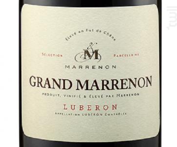 Grand Marrenon - Marrenon - 2016 - Rouge