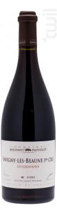 SAVIGNY-LÈS-BEAUNE Premier Cru « Aux Gravains » - Domaine Maldant - Pauvelot - 2012 - Rouge