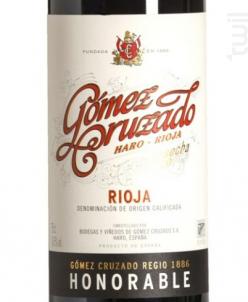 HONORABLE - GOMEZ CRUZADO - 2014 - Rouge