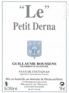 Le Petit Derna - Domaine de Dernacueillette - 2015 - Rouge