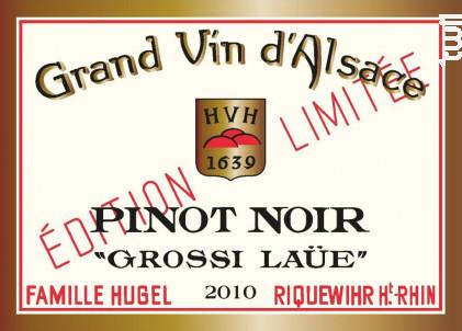Pinot Noir Grossi Laüe - Maison HUGEL & Fils - 2011 - Rouge