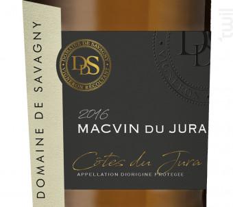 Macvin - DOMAINE DE SAVAGNY - Non millésimé - Blanc