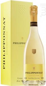 Grand Blanc Brut Millésimé - Champagne Philipponnat - 2011 - Effervescent