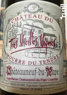 Cuvée Prestige Très Vieilles Vignes - Château du Mourre du Tendre - 2015 - Rouge