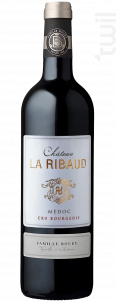Château la Ribaud - Famille Bouey - 2016 - Rouge