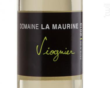 Viognier - Domaine La Maurine Rouge - 2018 - Blanc