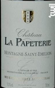 Château La Papéterie - Caisse Bois - Château La Papeterie - 2016 - Rouge