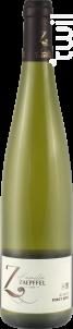 Pinot Gris - Famille Zaepffel - 2018 - Blanc