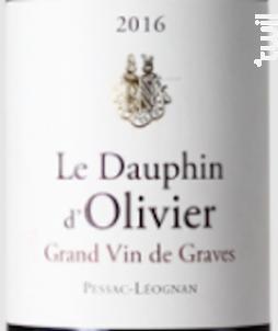 Le Dauphin d'Olivier - Château Olivier - 2013 - Rouge