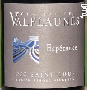 Espérance - Chateau De Valflaunes - 2017 - Rouge