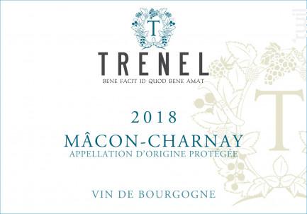 Mâcon Charnay - Trenel - 2018 - Blanc