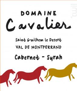 Domaine Cavalier Cabernet-Syrah - Château de Lascaux - 2016 - Rouge