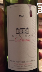 Château Calissanne - Château Calissanne - 2000 - Rouge