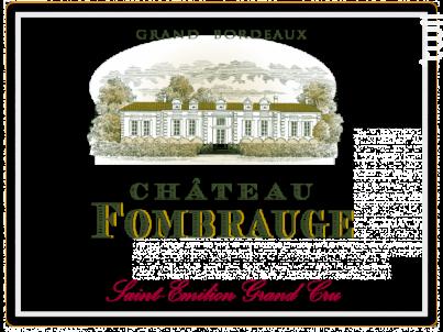 Château Fombrauge - Château Fombrauge - 2018 - Rouge