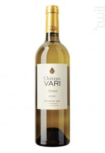 Bergerac sec Réserve - Château Vari - 2018 - Blanc
