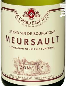 Meursault - Bouchard Père & Fils - 2017 - Blanc